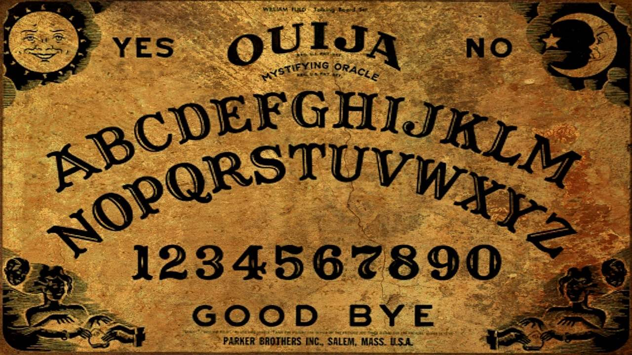 Be careful when using a ouija board. You are inviting spirits into our world and if unchecked, can be dangerous.